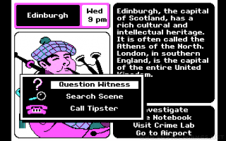 Where in Europe is Carmen Sandiego? Screenshot